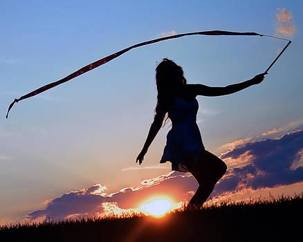 Sunset Dancer 1 by Kurt Bonnell