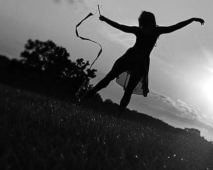 Sunset Dancer3 by Kurt Bonnell
