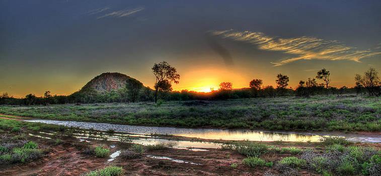 Sunset Glow by James Mcinnes