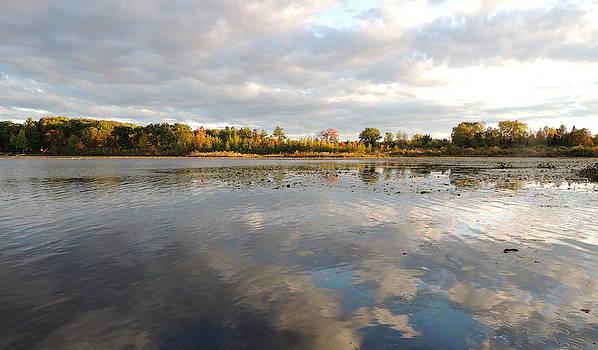Amalia Jonas - Sunset in a Lake