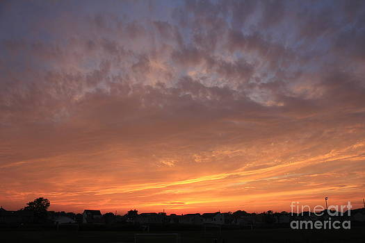 Sunset in Lindenhurst by Scenesational Photos