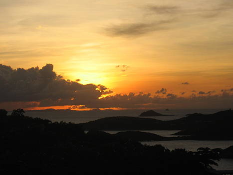 Stacey Robinson - Sunset in St. Thomas