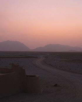 Sunset In The Persian Desert by Tia Anderson-Esguerra