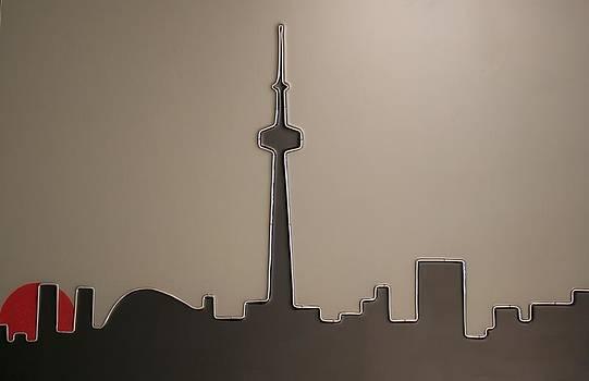 Sunset in Toronto by Peter Virgancz