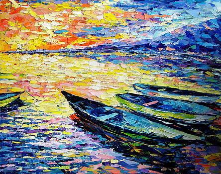 Sunset by Keren Gorzhaltsan