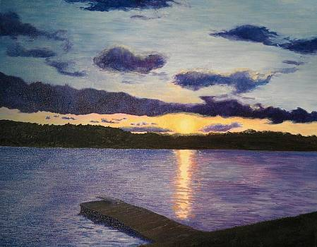 Andrew Hench - Sunset Lake