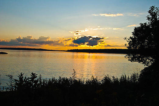 Sunset Maine two by Gordon H Rohrbaugh Jr