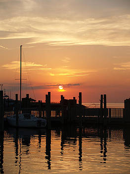 Sunset Marina by Jeremy Allen