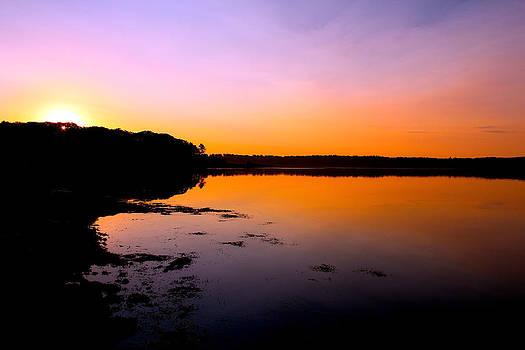 Sunset Ocean by Robbie Basquez