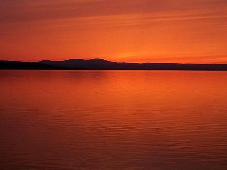 Sunset on Lake Champlain by Jeff Moose
