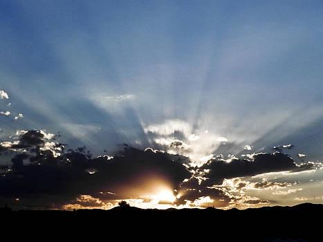Sunset on March 12 by Jesus Nicolas Castanon