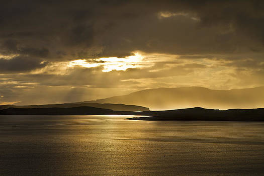 Sunset on Skye by Gabor Pozsgai