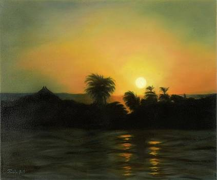 Sunset on the Nile by Pamela Bell