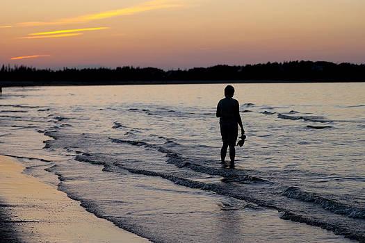 Sunset on the Ocean by Allan MacDonald