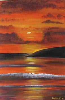 Sunset Orange by Susan McLean Gray