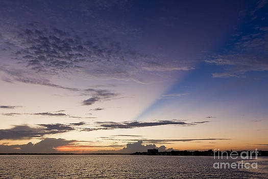 Sunset over Charleston South Carolina by Dustin K Ryan