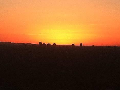 Sunset over Phoenix by David Stich