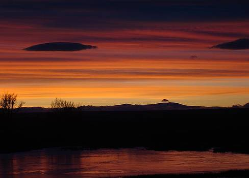 Sunset Rainbow by Sandi Owens
