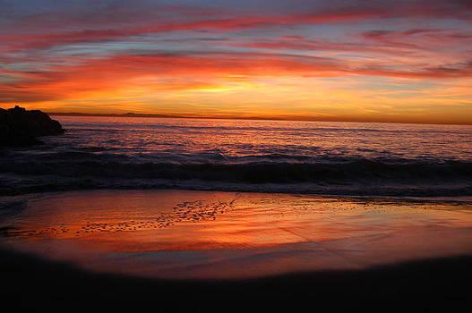Sunset Reflected by Wanda Jesfield