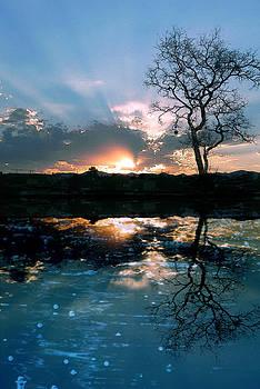 Sunset reflexion by Jesus Nicolas Castanon