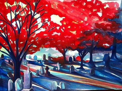 Sunset by Rene LeGrue