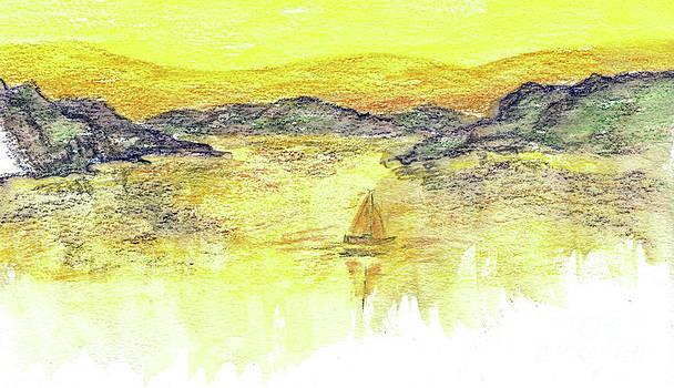 Ellen Miffitt - Sunset Sail