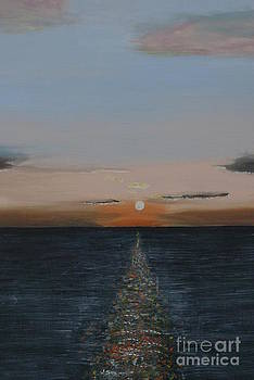 Sunset Seascape by William Ohanlan