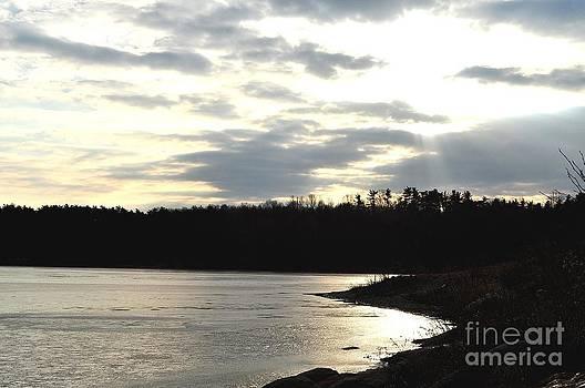 Sunset Shore by Gwen  Dubeau