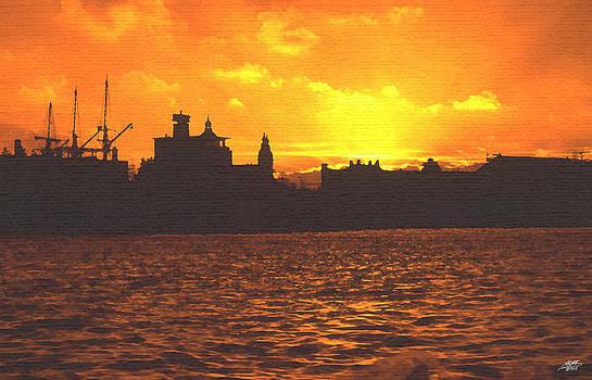 Steve Huang - Sunset Silhouette