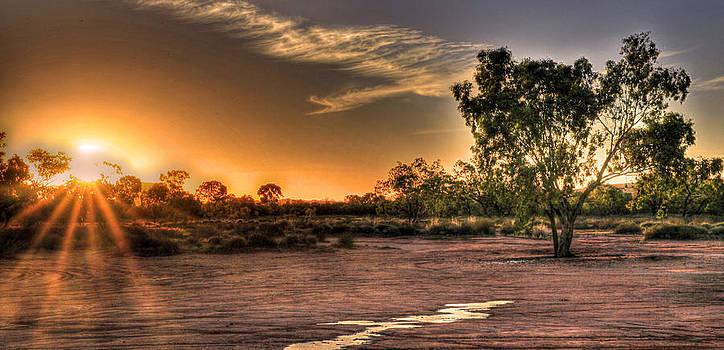 Sunset Surprise  by James Mcinnes