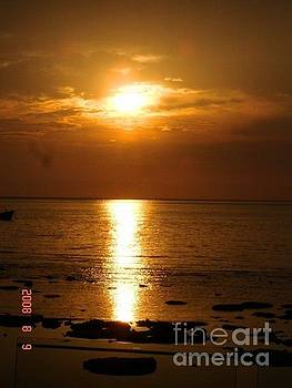 Sunset Tioman Island by Carol Wright