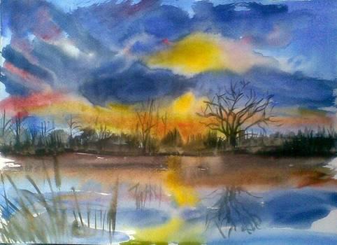 Sunset by Vaidos Mihai