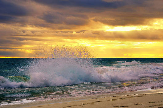 Sunset Wave by Imagevixen Photography
