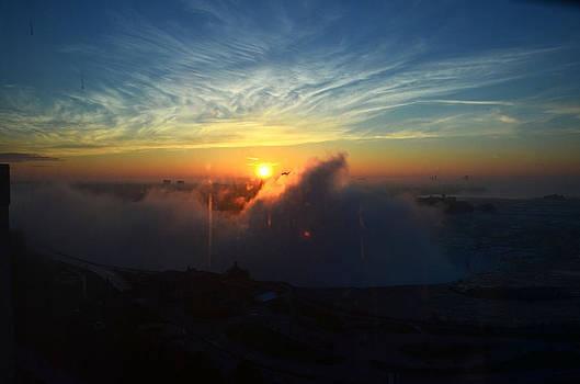 Pravine Chester - Sunsrise at Niagara