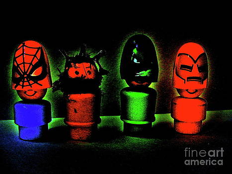 Superheroes by Ricky Sencion