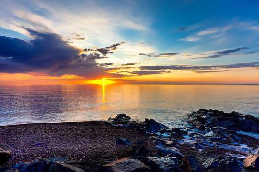 Superior Dawn by David Wynia