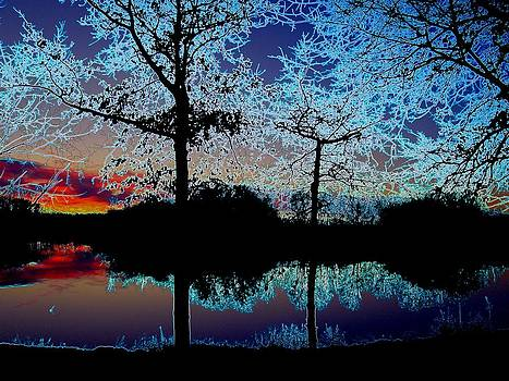 Supreme Sunset by J R Seymour