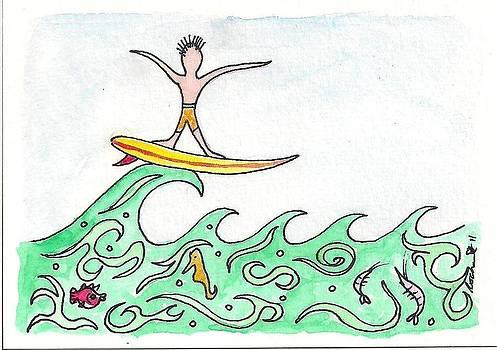 Surf 2 by Melanie Rochat