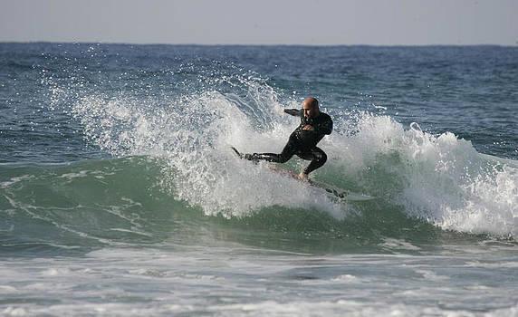 Surfer by Asaf Schwarz