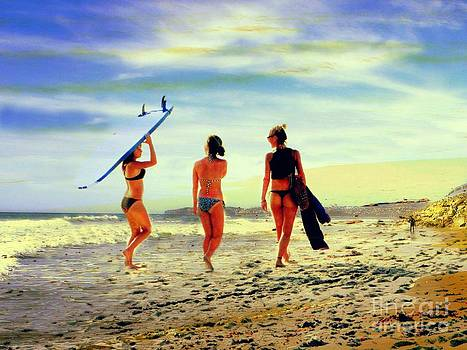 Surfer Girls  by Kevin Moore