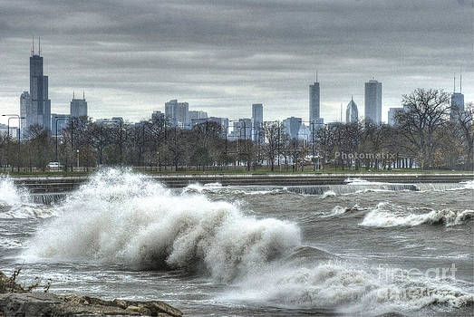 Surf's up in Chicago 1 by Jim Wright