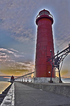 Surreal Lighthouse by Jeramie Curtice