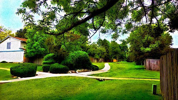 Surreal Walk Path by Sergio Aguayo
