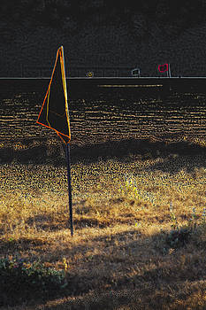 Kantilal Patel - Surreal Yellow Golf Marker