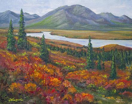 Dee Carpenter - Susitna River Denali Hwy