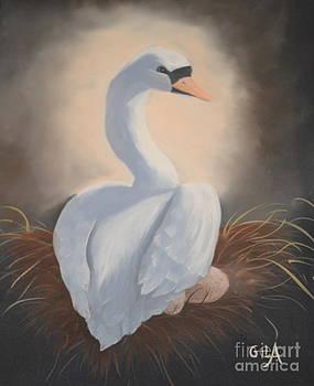 Swan's Nest by Gila Churba