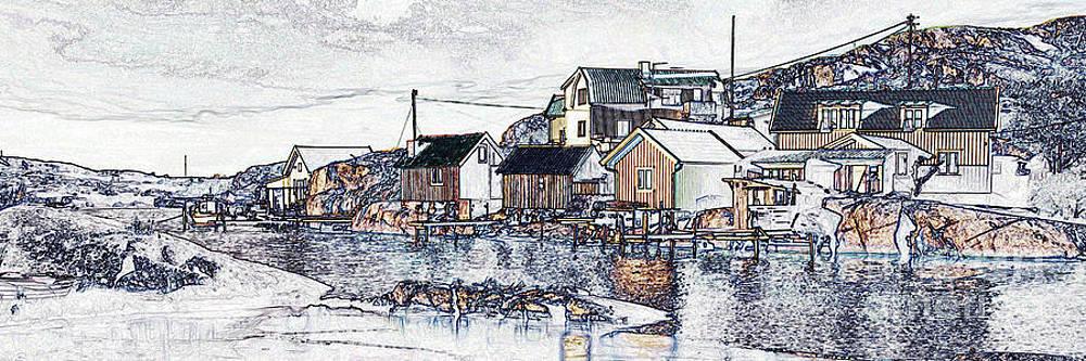 Swedish village by Wedigo Ferchland