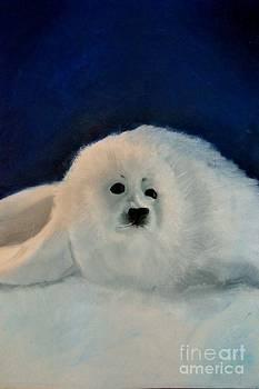 Sweet Little Winter Seal Pup of my Soul by AE Hansen