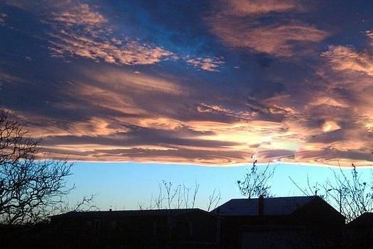 Swirley Clouds by Sandi Owens