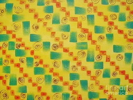 Swirlies and Squares by Rachel Dunkin
